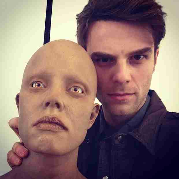 Vampire Diaries Star Nathaniel Buzolic Tweets Creepy Photo From the Other Side