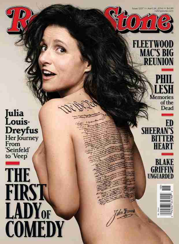 Julia Louis-Dreyfus Nude on Rolling Stone: See the 53-Year-Old Veep Star! (VIDEO)