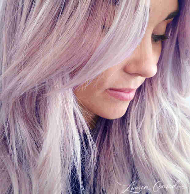 Lauren Conrad Dyes Her Hair Light Purple — See Her Transformation! (VIDEO)