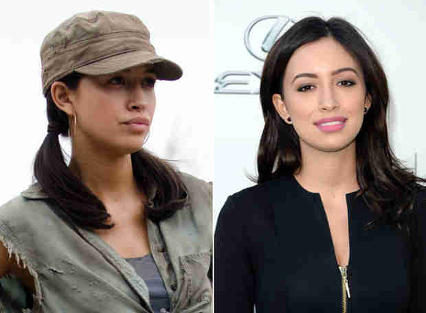 The Walking Dead's Christian Serratos: I'm Not as Brave as Rosita!
