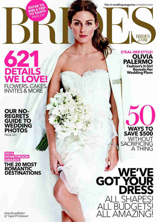 Olivia Palermo Covers Brides Magazine and Gushes Over Fiance Johannes Huebl