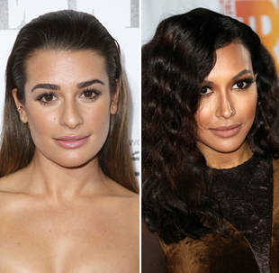 Are Lea Michele and Naya Rivera Really Feuding on the Glee Set? You Said…