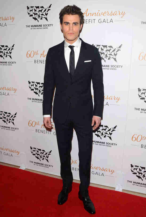 Paul Wesley Credits The Vampire Diaries at Humane Society Gala