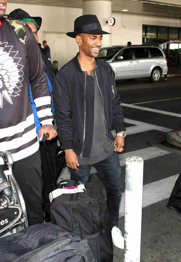 Big Sean Is All Smiles During First Appearance Since Splitting From Naya Rivera
