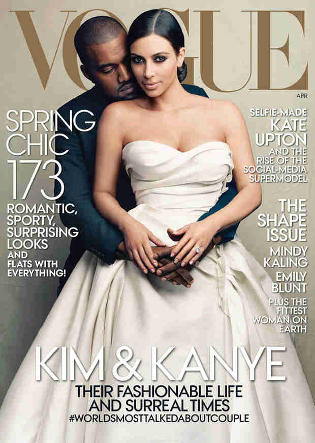 Kim Kardashian Picks Her Top Spoof Vogue Covers — What's Her Favorite?