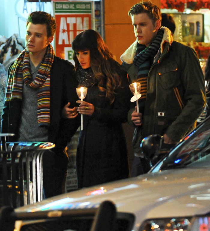 "Glee Season 5, Episode 15: ""Bash"": Rachel, Kurt, Blaine and Sam Sing ""No One Is Alone"" (VIDEO)"