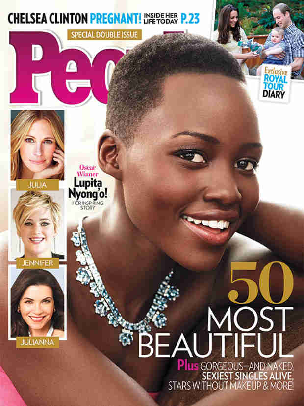 "12 Years a Slave's Lupita Nyong'o Named People's ""Most Beautiful"" Woman! (VIDEO)"