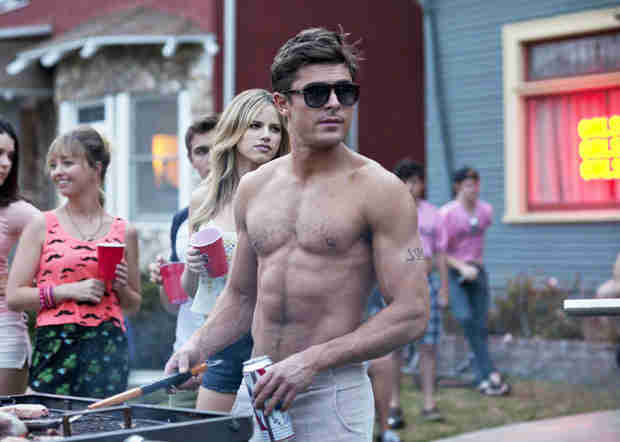 If Zac Efron Wins MTV Movie Award For Best Shirtless Scene, He'll Accept it Topless