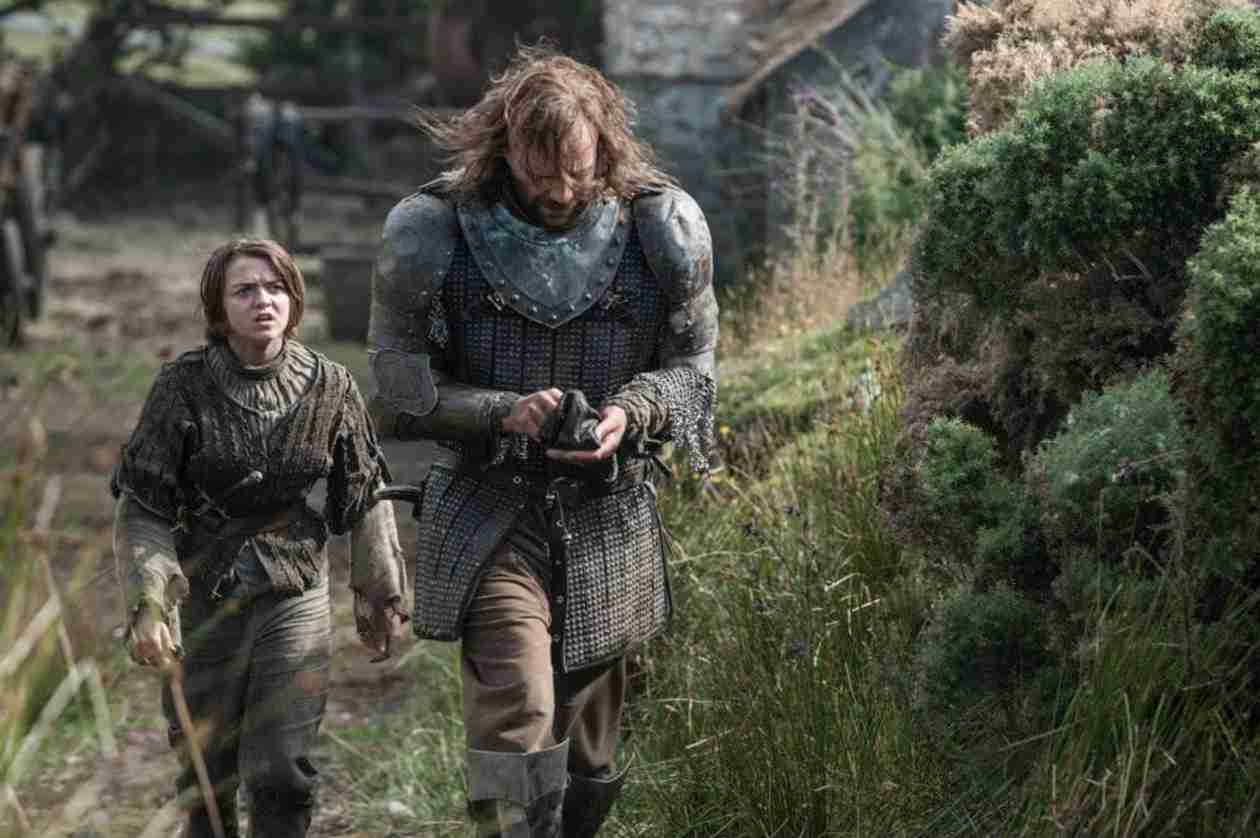 "Game of Thrones Spoilers: Arya and the Hound's ""Trail of Destruction"""