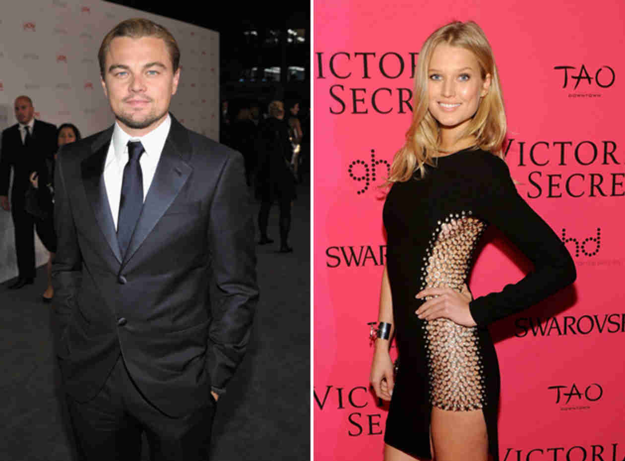 Leonardo DiCaprio and Girlfriend Toni Garrn Wear Same Outfit For Shopping Date (PHOTOS)