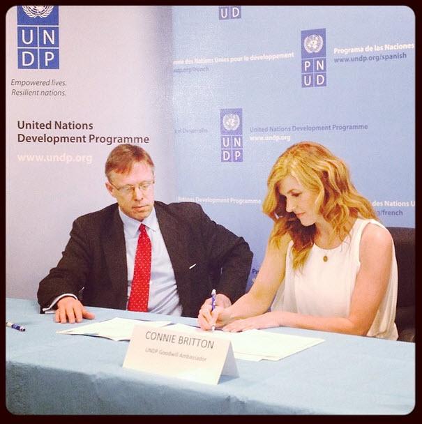 Nashville Star Connie Britton Named UN Goodwill Ambassador (PHOTO)