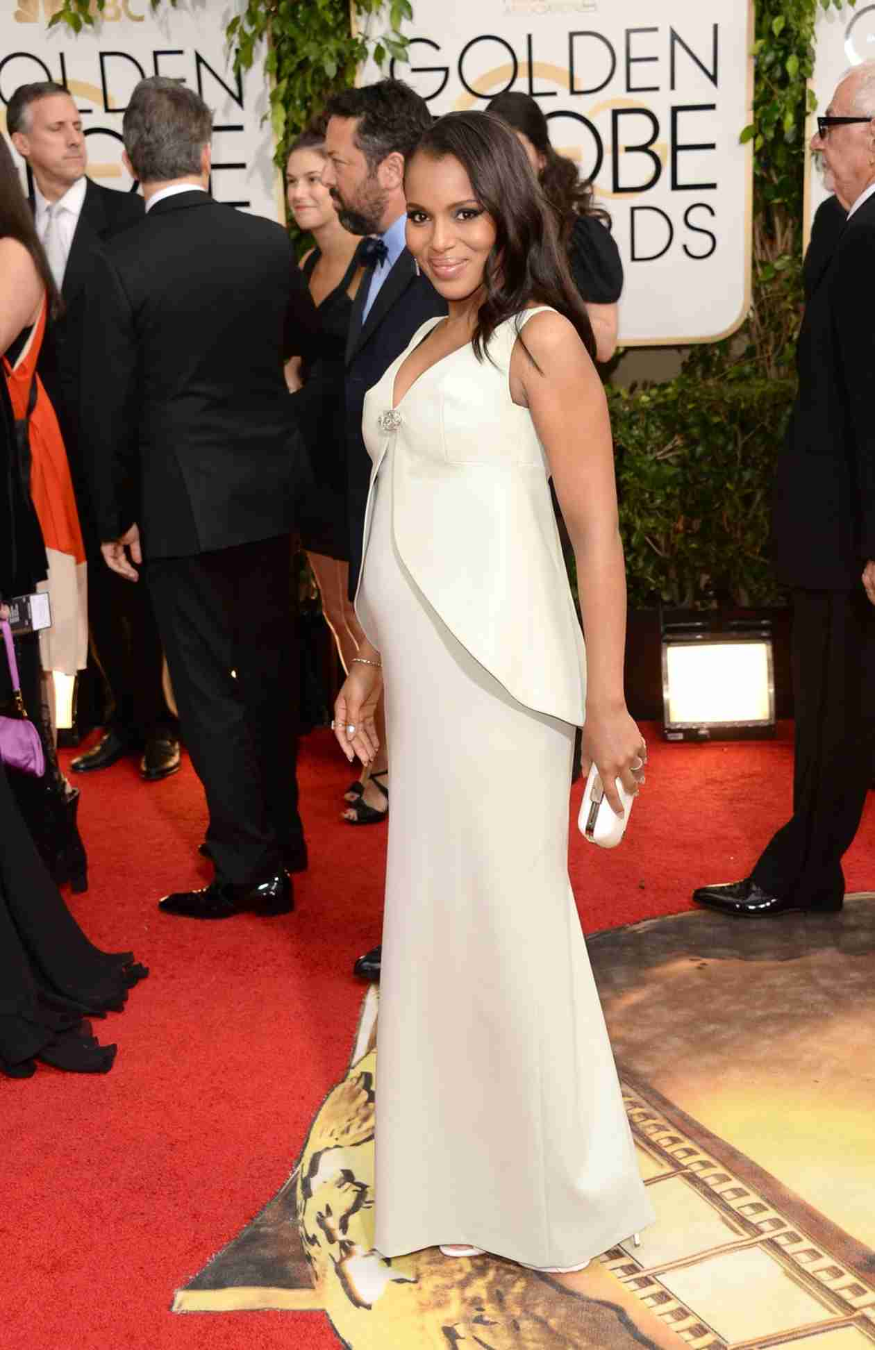 Has Scandal Hid Kerry Washington's Pregnancy Well?