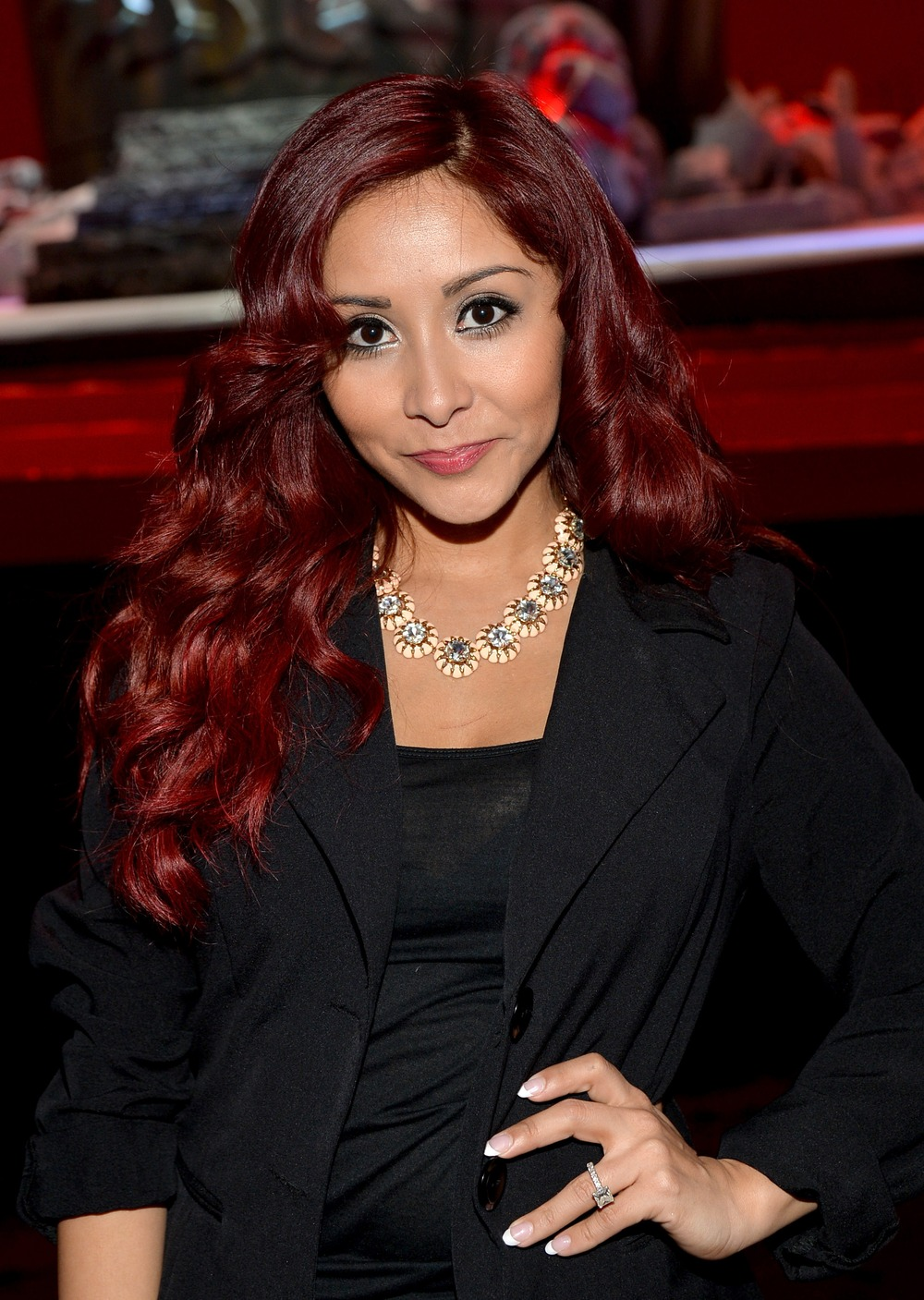"Pregnant Snooki Would ""Die"" to Have a Play Date With This Celeb Couple's Baby"