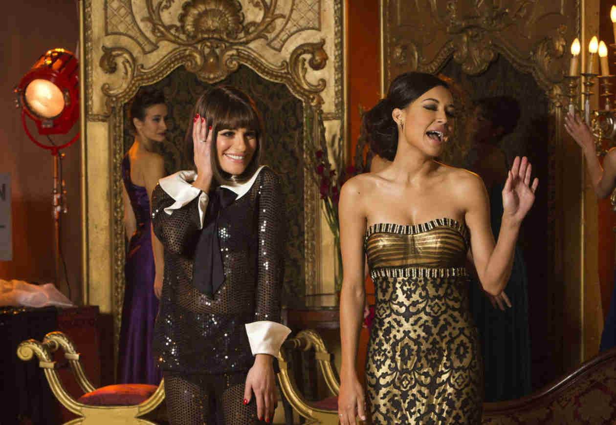 Drama Erupts on Glee Set Between Lea Michele and Naya Rivera — Report (VIDEO)