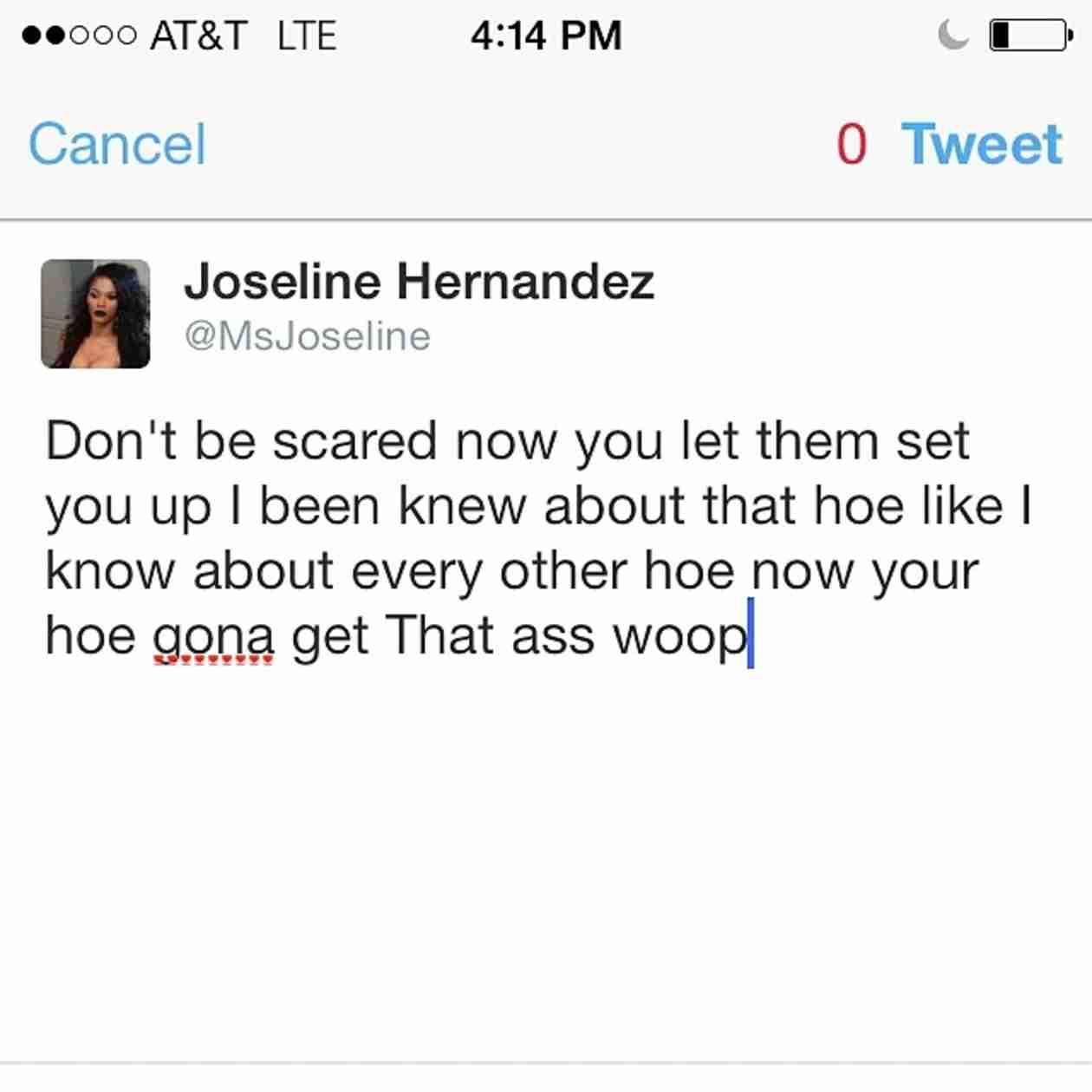 Joseline Hernandez Declares War on Instagram (PHOTOS)