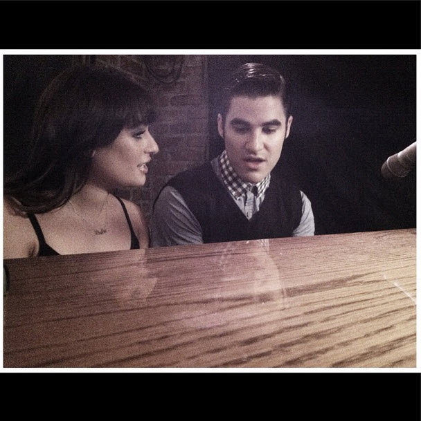 "Glee Spoilers: Lea Michele and Darren Criss Preview ""Broadway Baby"""
