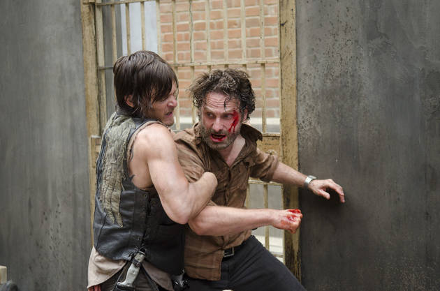 "The Walking Dead's Andrew Lincoln Reflects on Rick Calling Daryl His ""Brother"""