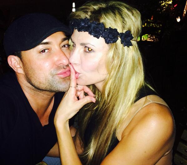 Brandi Glanville Makes Out With Shirtless Hunks — Face-Licking Ensues! (PHOTO)