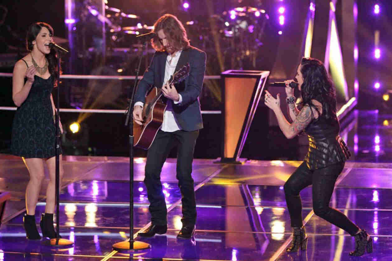 Watch Dawn & Hawkes vs. Kat Perkins on The Voice 2014 Season 6 Battle Rounds (VIDEO)