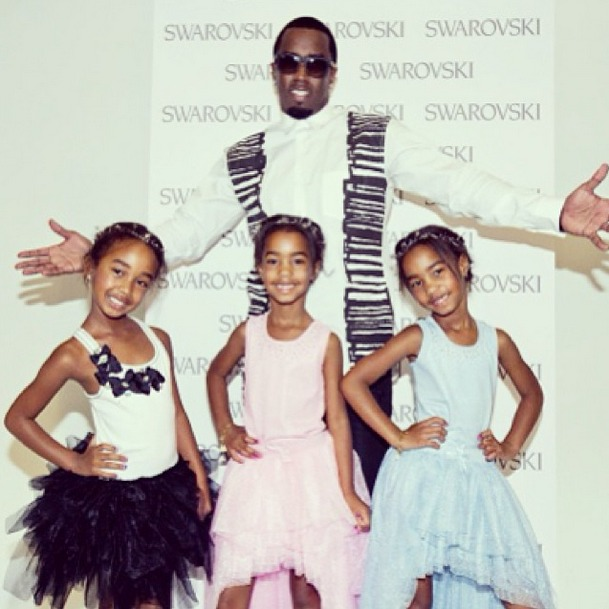 Sean Combs's Daughters Model For Ruum Apparel! (PHOTO)