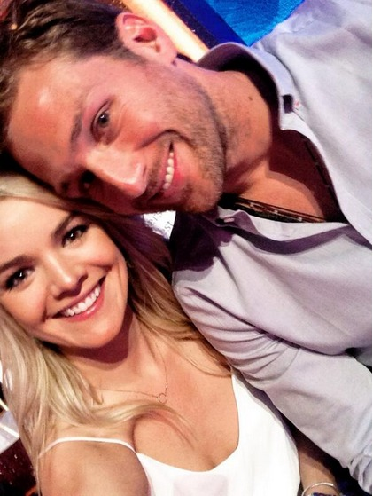 Juan Pablo and Nikki Ferrell Attend DWTS: Trying to Dance Next Season?