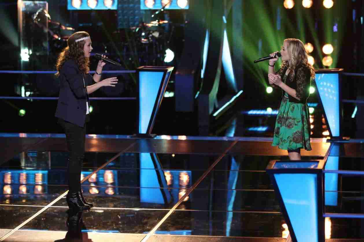 Watch Bria Kelly vs. Madilyn Paige on The Voice 2014 Season 6 Battle Rounds (VIDEO)