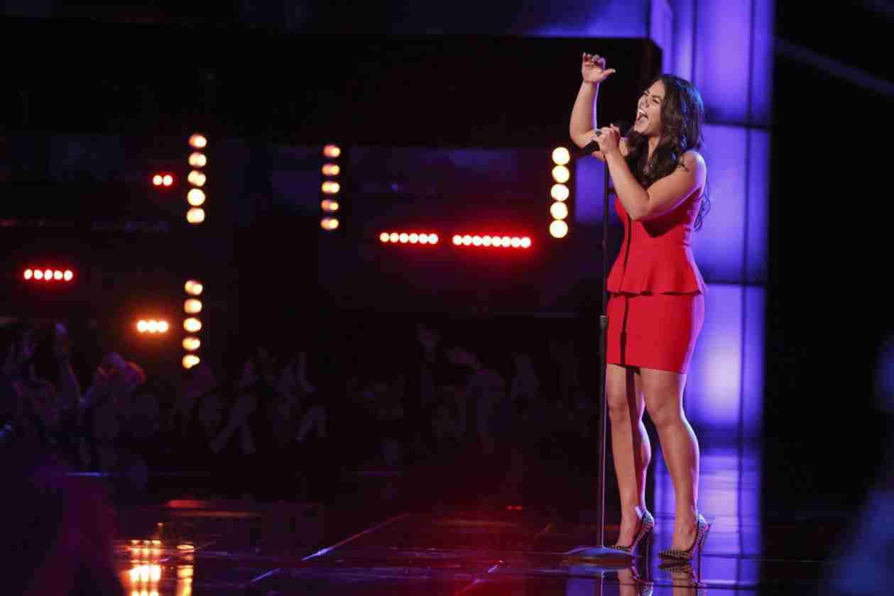 Watch Tess Boyer Sing on The Voice 2014 Playoffs, April 14, 2014 (VIDEO)
