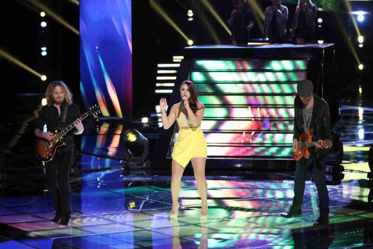 Watch Tess Boyer Sing on The Voice 2014 Live Shows, April 28, 2014 (VIDEO)
