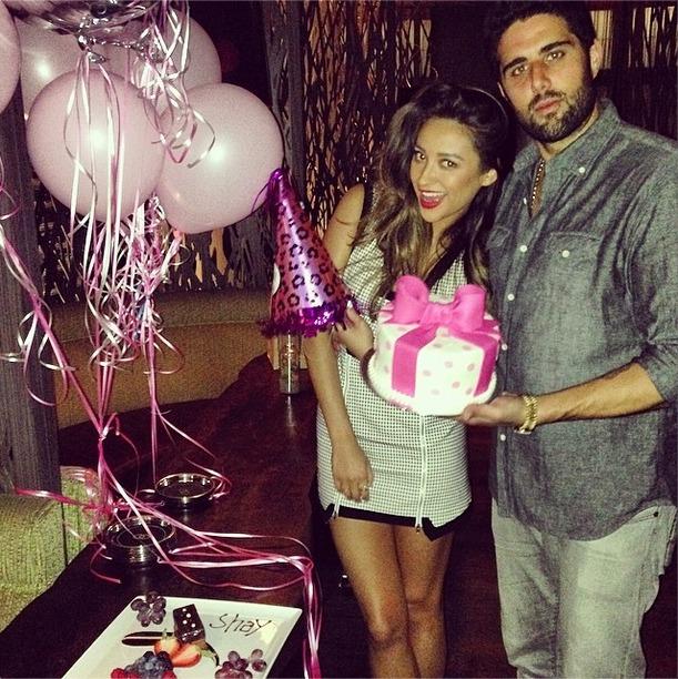 Shay Mitchell Celebrates Her Birthday With Boyfriend Ryan
