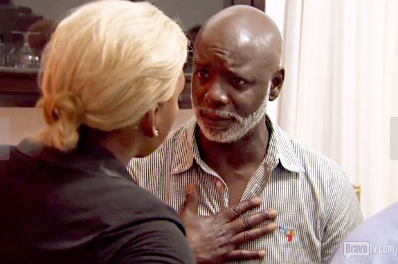 Peter Thomas Implies That He Thinks NeNe Leakes Is Weak