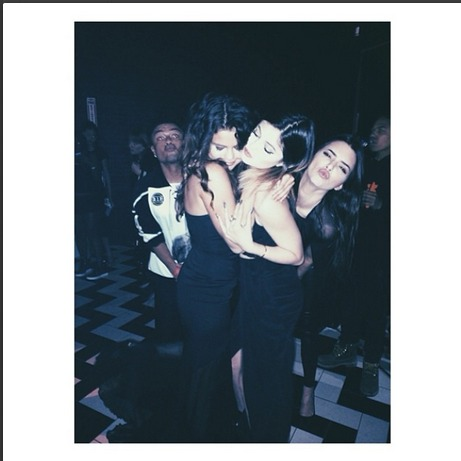 Kylie Jenner and Selena Gomez at Diddy's Son's 16th Birthday — See Their Sexy Photos!