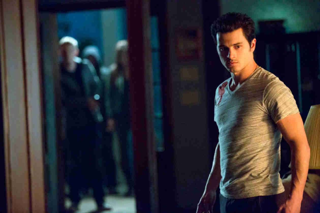 Vampire Diaries Spoilers: What Is Enzo Doing in a Graveyard? (PHOTO)