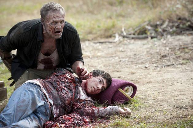 The Walking Dead T Dog Death Episode