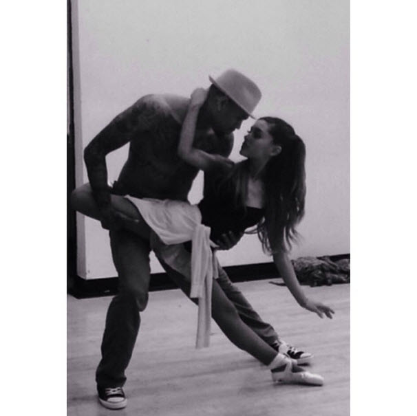 "Chris Brown and Ariana Grande's ""Don't Be Gone Too Long"" — See the Dance Teaser! (VIDEO)"