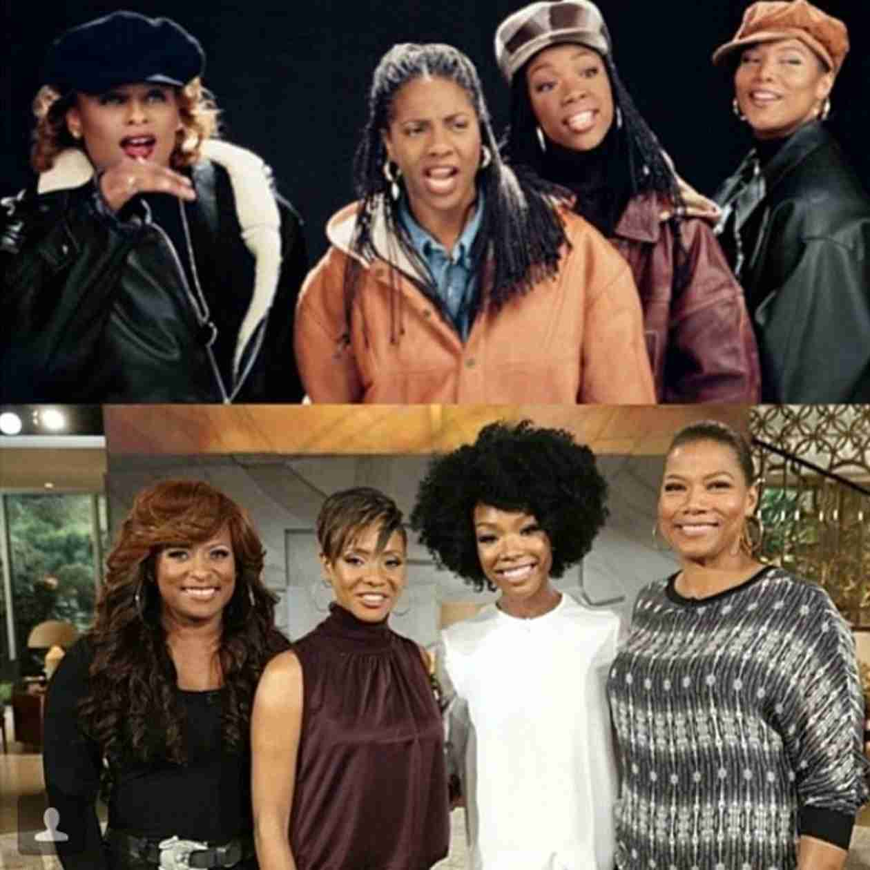 Brandy Reunites With MC Lyte, YoYo, and Queen Latifah 20 Years After Single (VIDEOS)