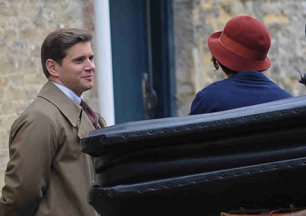 Downton Abbey Season 5 Spoiler: Tom Branson and Sarah Bunting's New Scene!