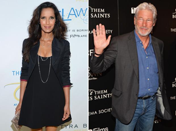 Padma Lakshmi and Richard Gere Are Dating — Report (VIDEO)