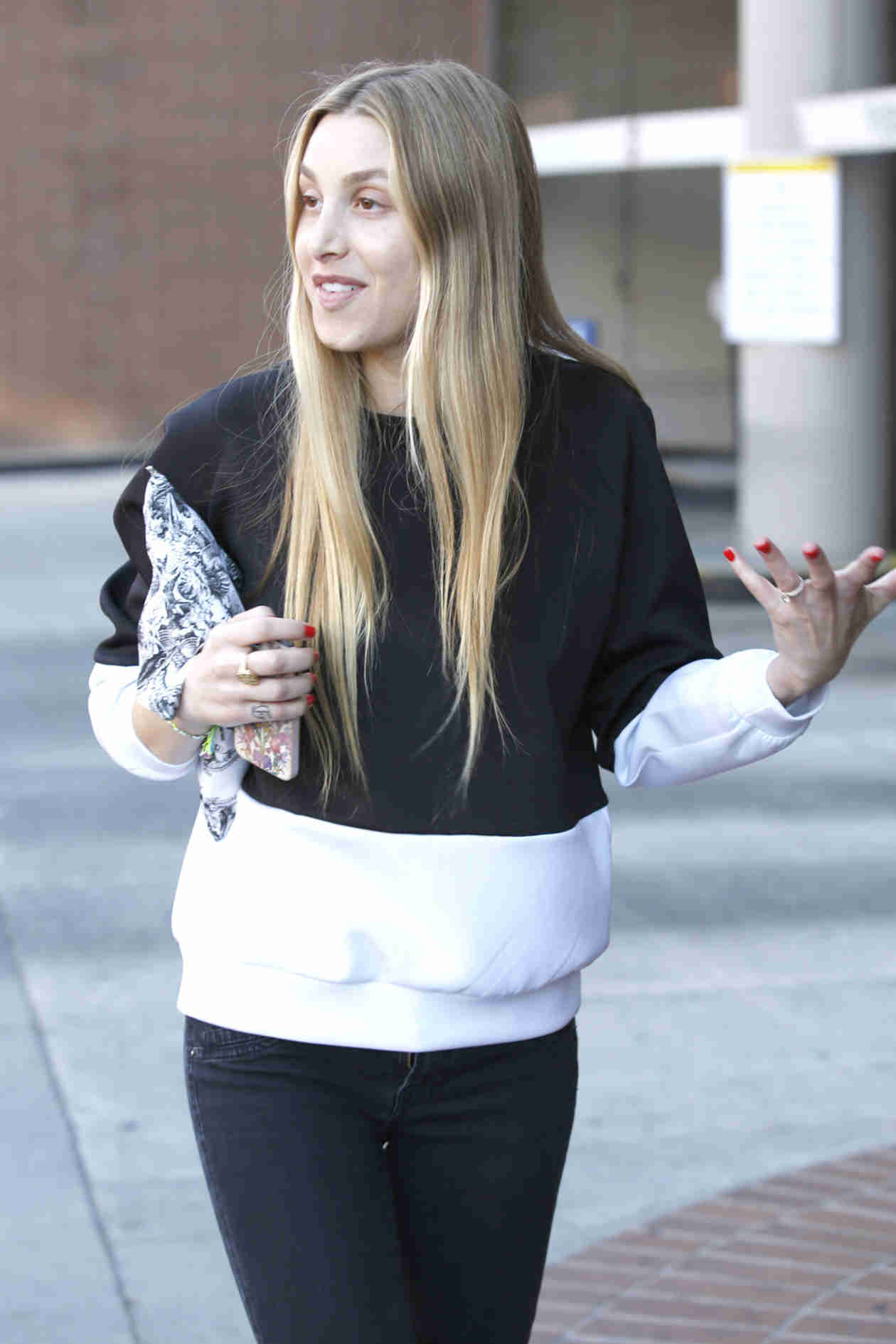 Whitney Port Goes Makeup-Free While Showing Off Engagement Ring in Beverly Hills (PHOTOS)