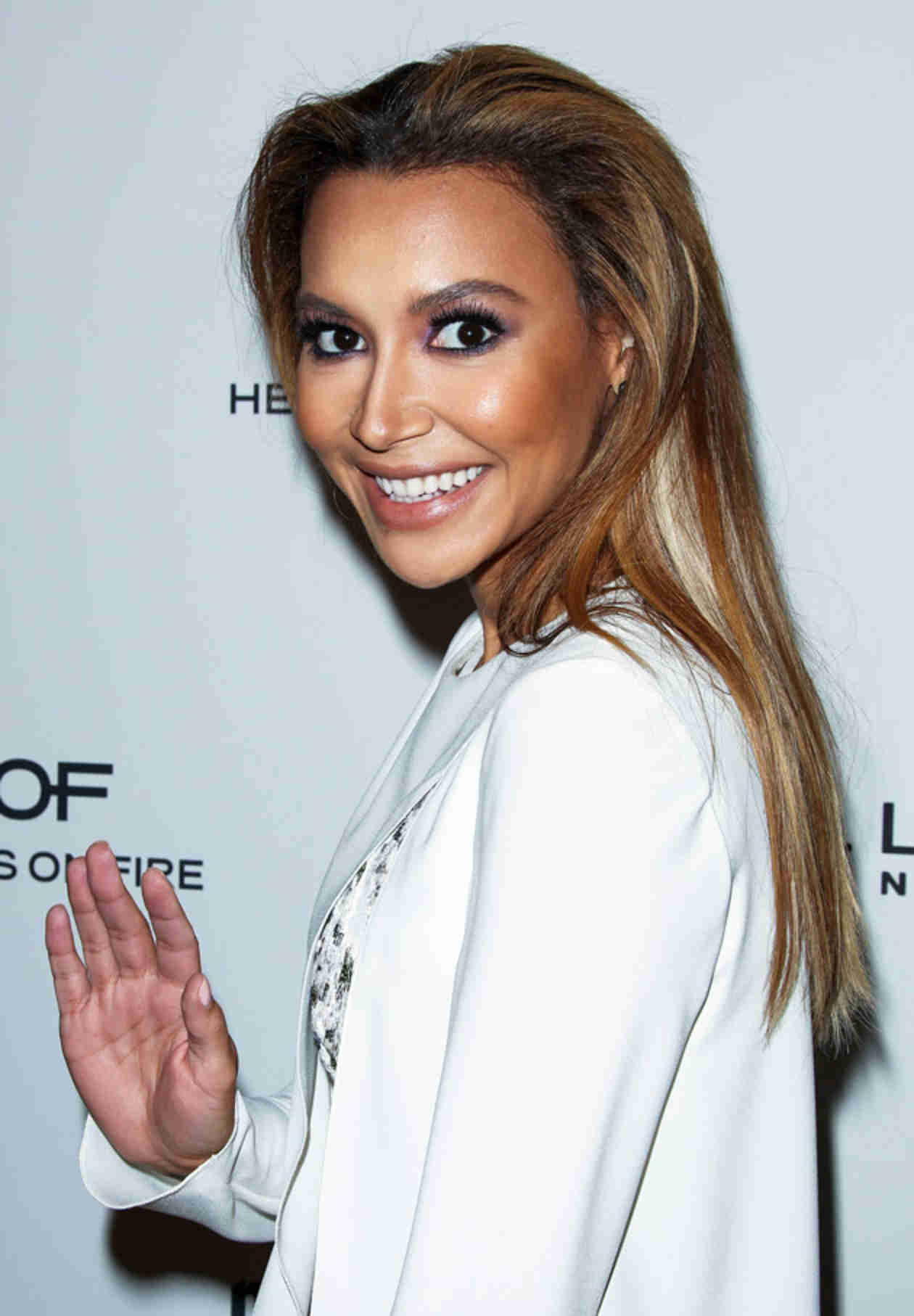 Naya Rivera Looks Happy Just One Day Before Calling Off Her Engagement