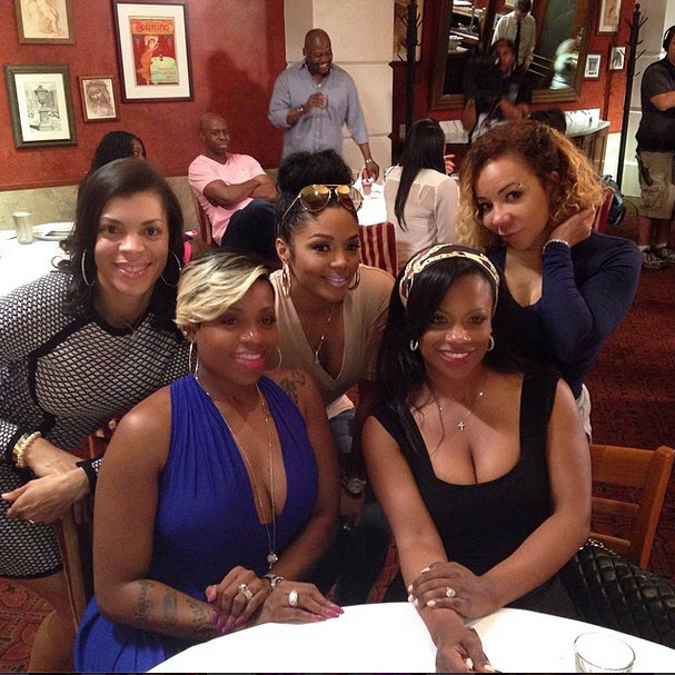 "Kandi Burruss Responds to Rumors of Fantasia Barrino's ""Inappropriate"" Toast"