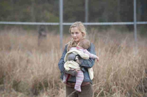 """The Walking Dead Showrunner on Judith: """"Nobody Wants to See a Baby Eaten on Television"""""""