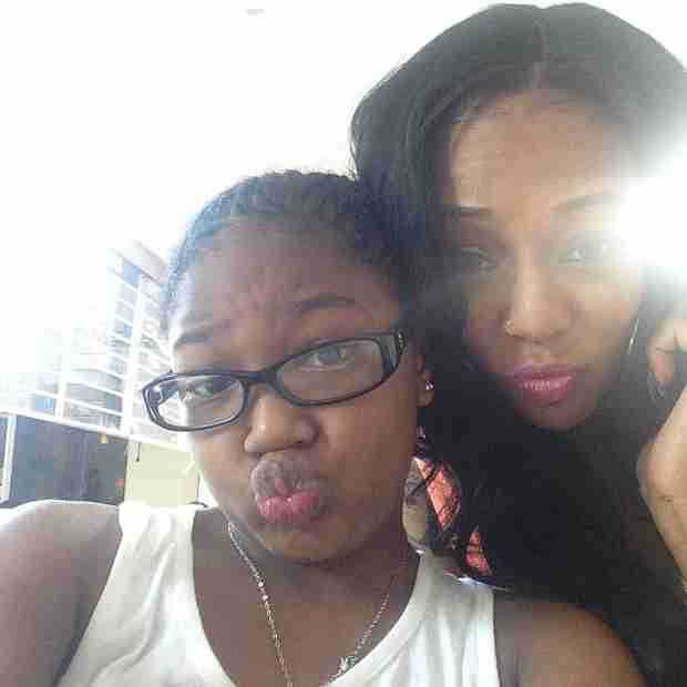 Lil Scrappy and Daughter Emani Hang With Ex Bambi (PHOTOS)