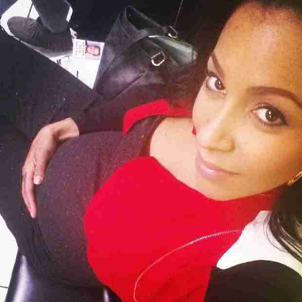 Amina Buddafly Flaunts Growing Baby Bump — See It Now! (PHOTO)