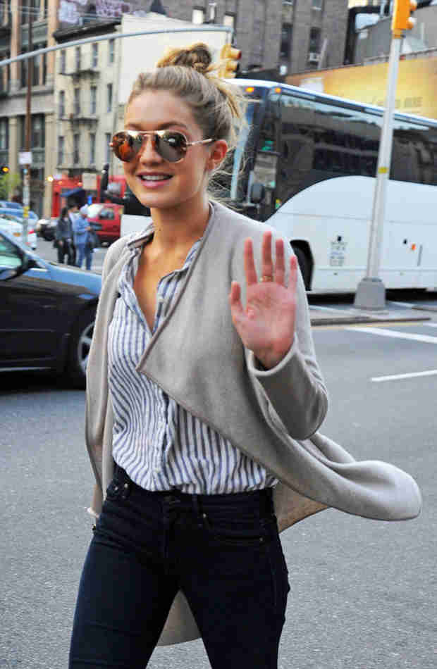 Gigi Hadid Looks Happy in NYC After Breakup From Cody Simpson (PHOTOS)