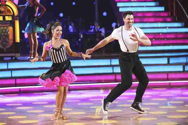 Dancing With the Stars 2014: Meryl Davis and Danica McKella's Week 8 Samba Dance Duel (VIDEO)