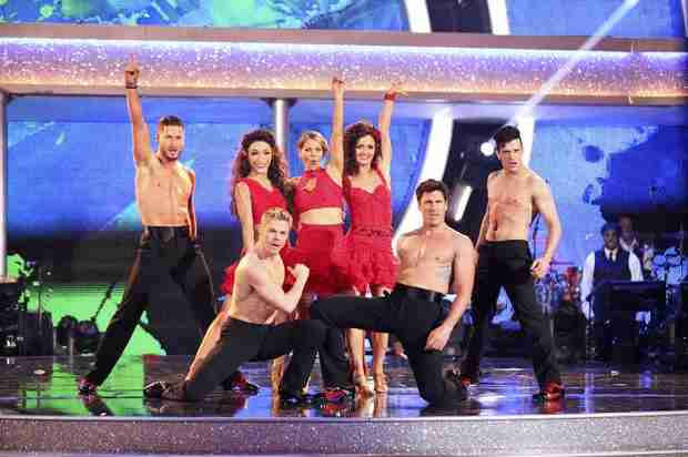 Dancing With the Stars 2014: Is There Too Much Stripping Down?