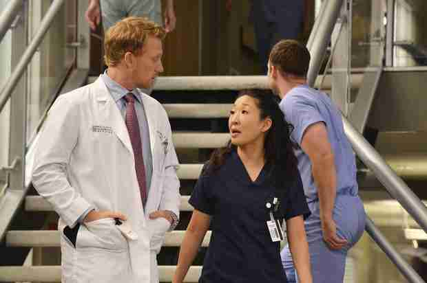 Grey's Anatomy: Sandra Oh Discusses That Cristina-Owen Goodbye, the Last Scene She Shot