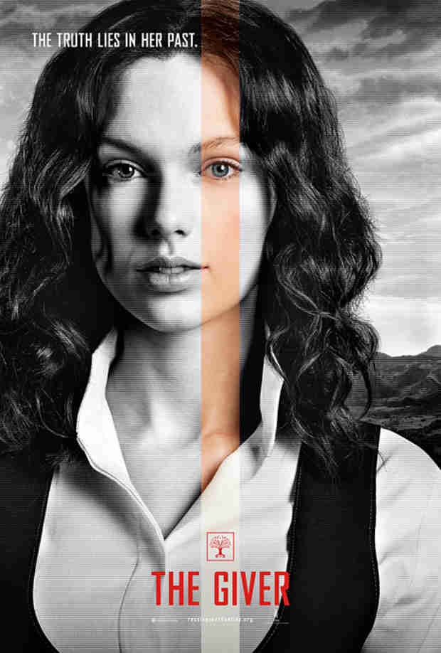Taylor Swift Totally Unrecognizable in New The Giver Poster (VIDEO)