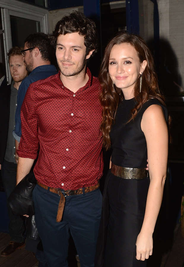 Leighton Meester Had Crush on Adam Brody Years Before They Dated