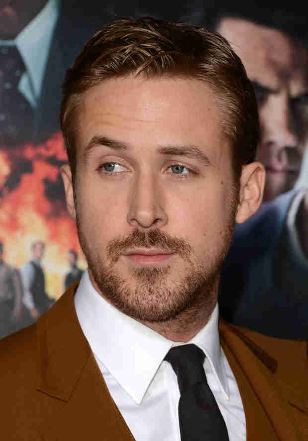 Ryan Gosling Wears WHOSE Name on His Necklace? (Hint: It's Not Eva Mendes!)